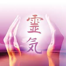 reiki hands purple