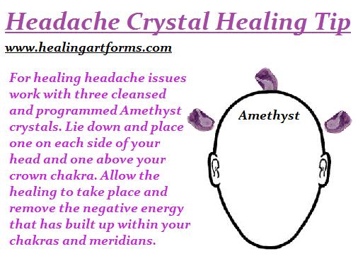 headache crystal
